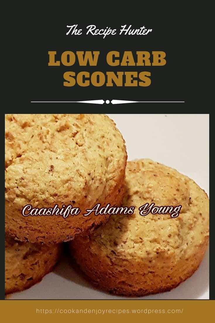 Caashifa's Low Carb Scones