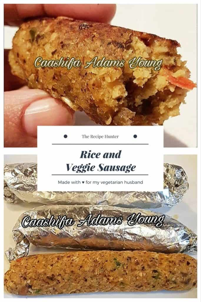 Rice and Veggie Sausage