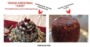 "Vegan Christmas ""Cake"""
