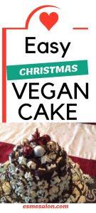 Vegan Christmas Cake
