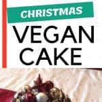 Vegan Christmas Cake