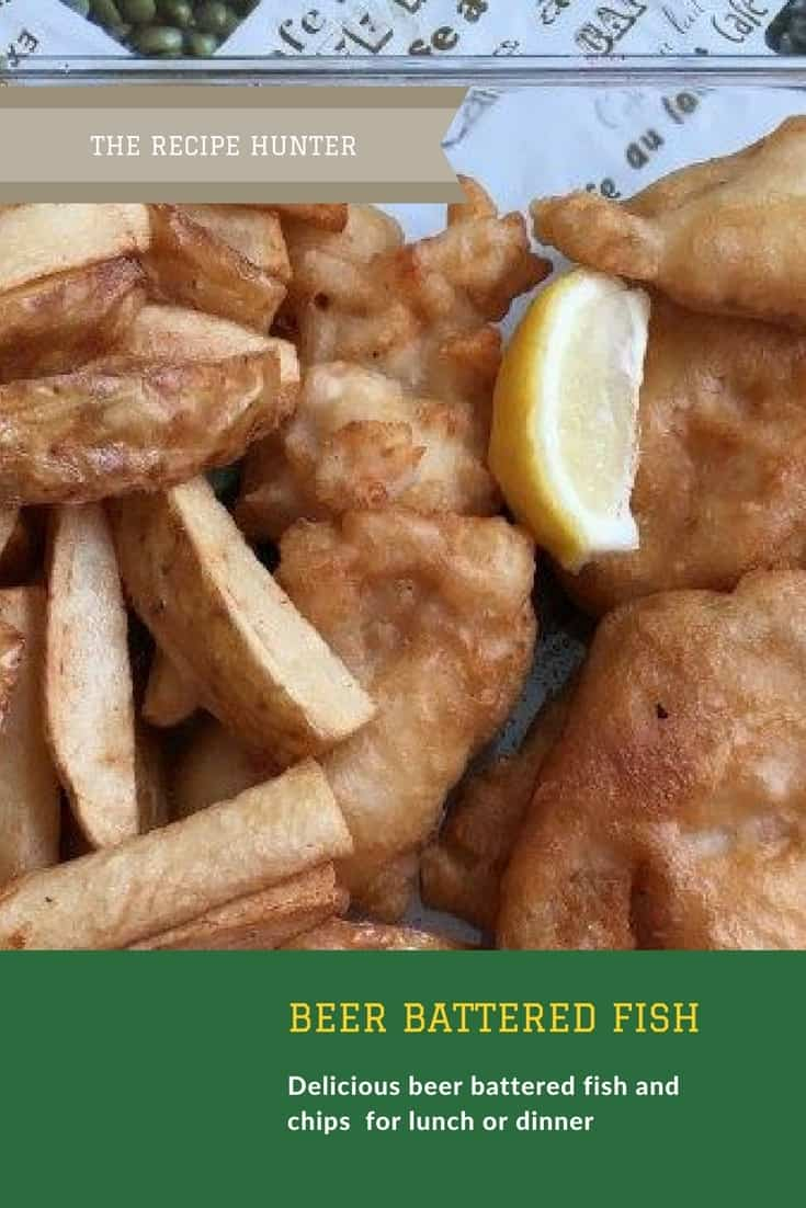 Bobby's Beer battered fish