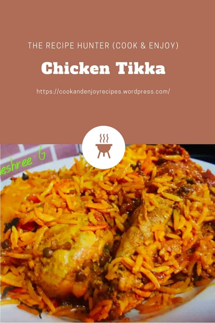 Vineshree's Chicken Tikka