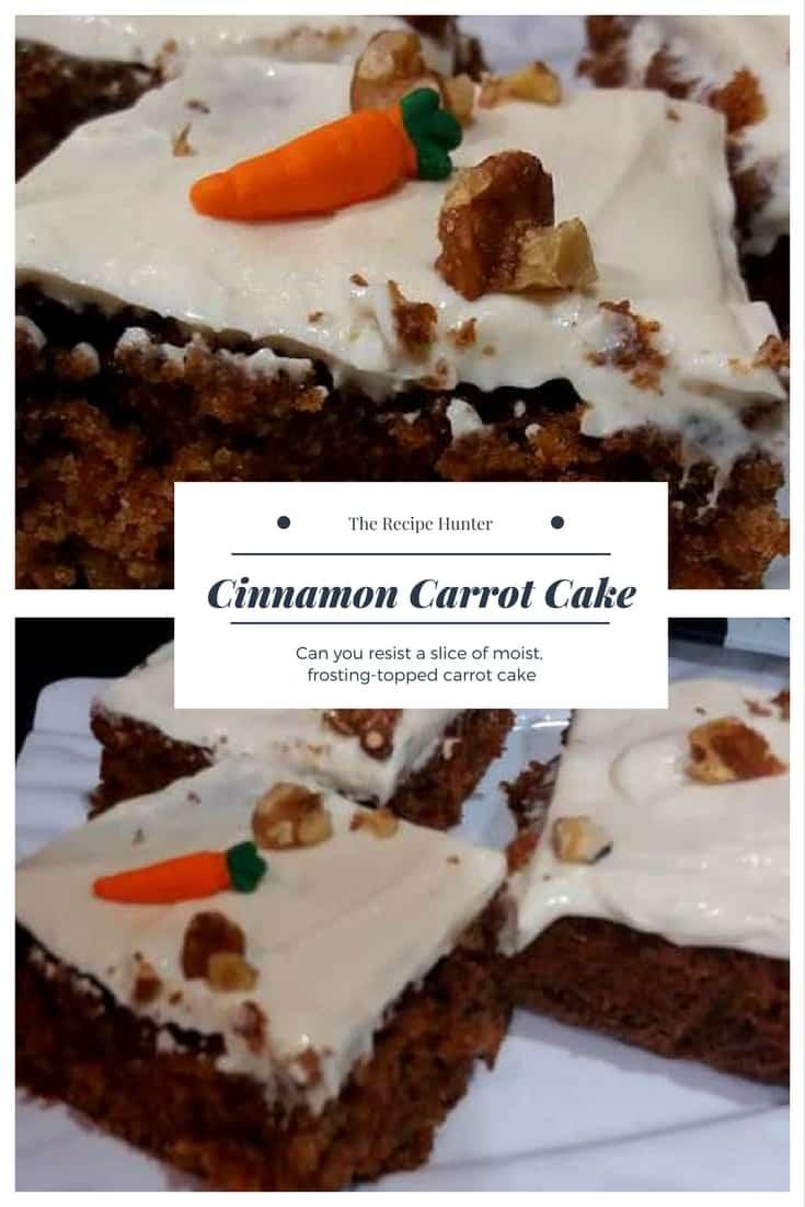 Feriel's Cinnamon Carrot Cake