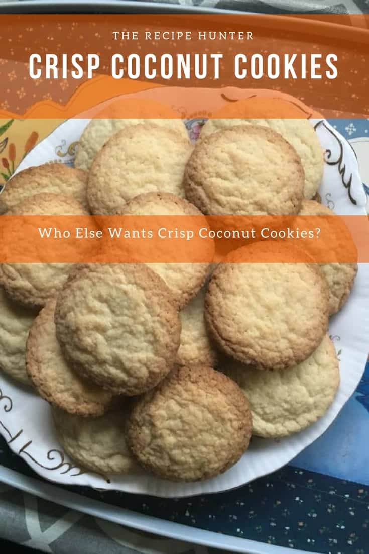 Crisp Coconut Cookies