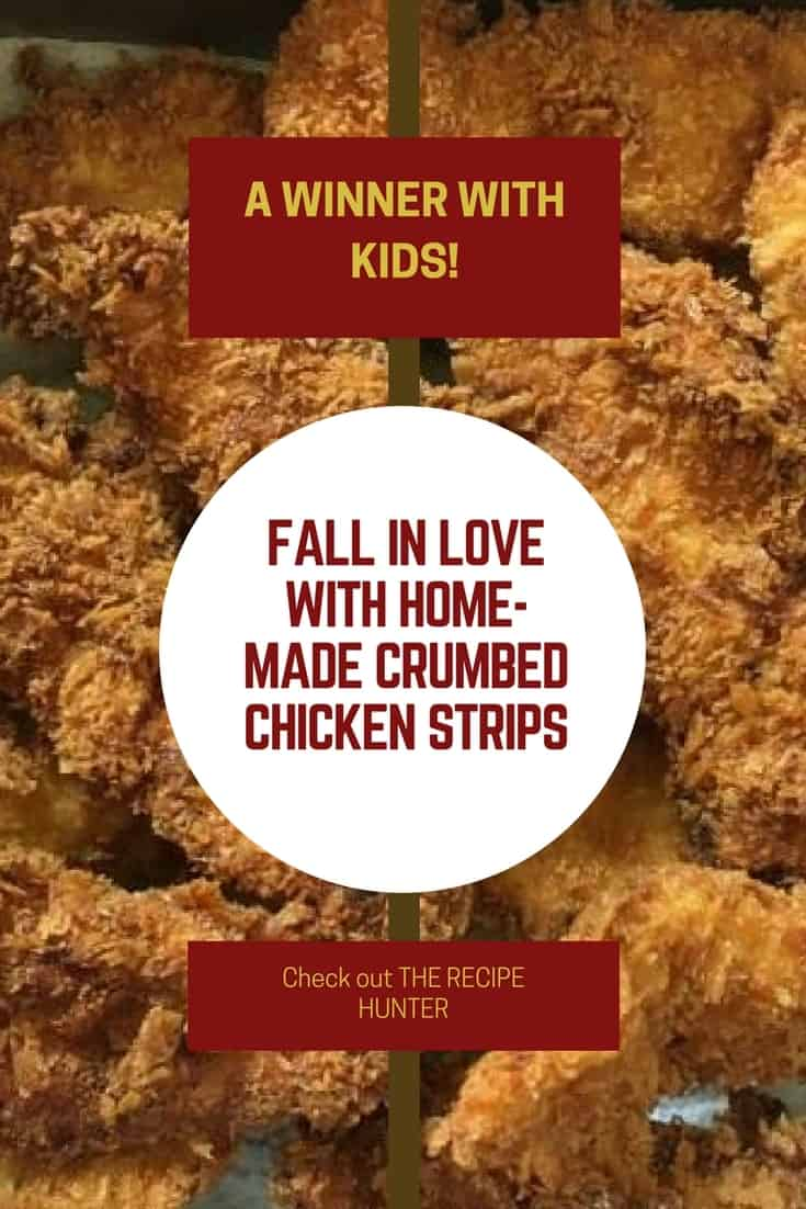 Crumbed Chicken Strips