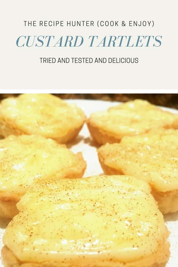 Custard Tartlets