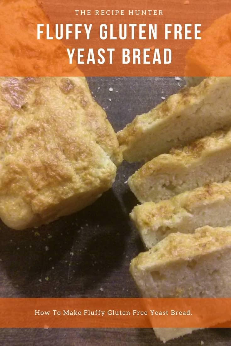 Fluffy gluten free yeast bread