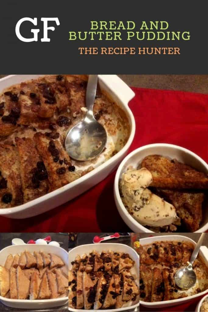 GF Bread and Butter Pudding