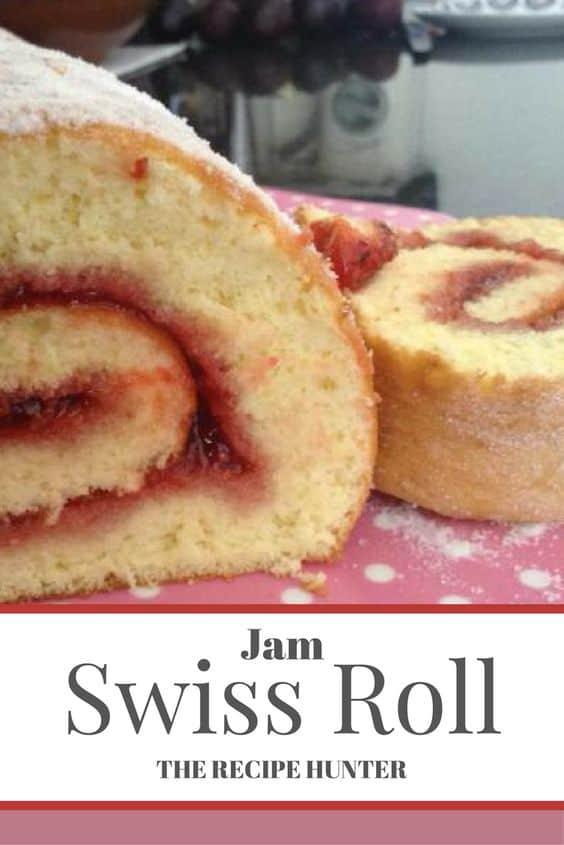 Gail's Jam Swiss Roll