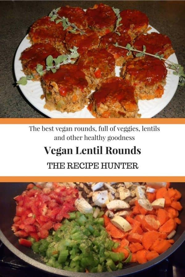 Es's Vegan Lentil Rounds
