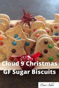 Cloud 9 Christmas GF Sugar Biscuits