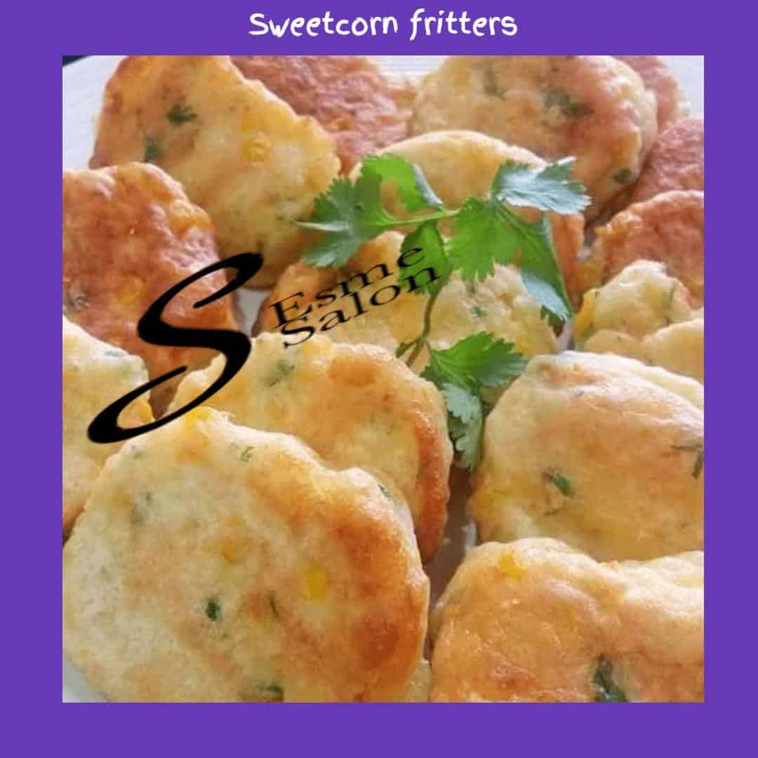 Sweetcorn fritters
