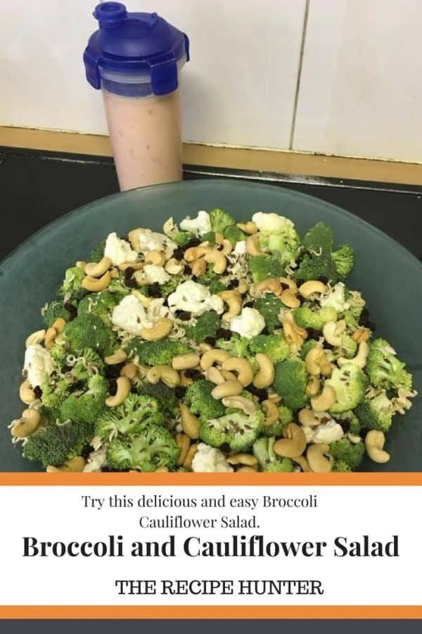 Hannah's Broccoli and Cauliflower Salad