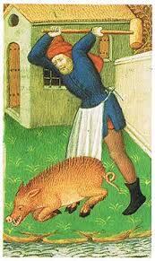 Killing pig
