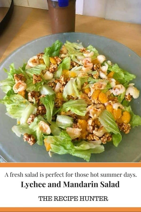 Hannah's Lychee and Mandarin Salad