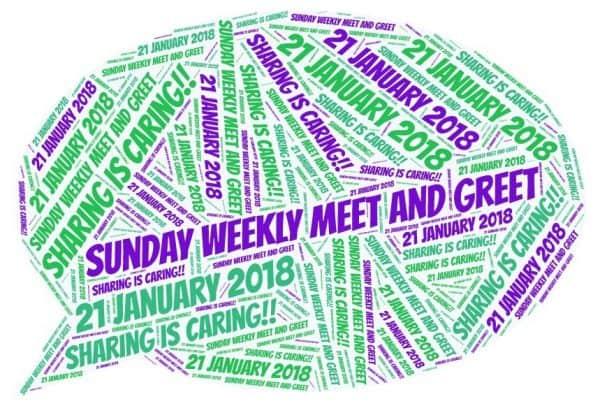 #3: Pinterest – Sunday Weekly Meet and Greet