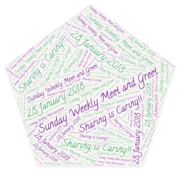 #4: Any Social Media Link – Sunday Weekly Meet andGreet