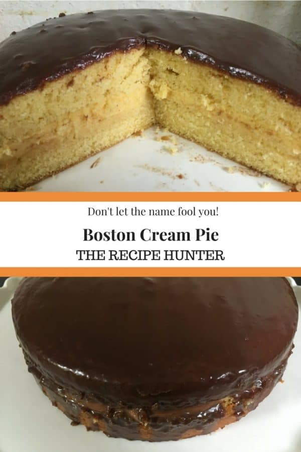 Bobby's Boston Cream Pie