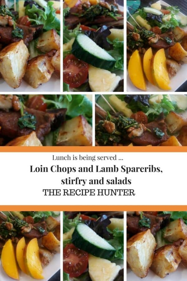 Loin Chops and Lamb Spareribs,