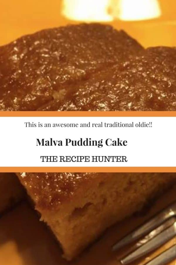 Malva Pudding Cake