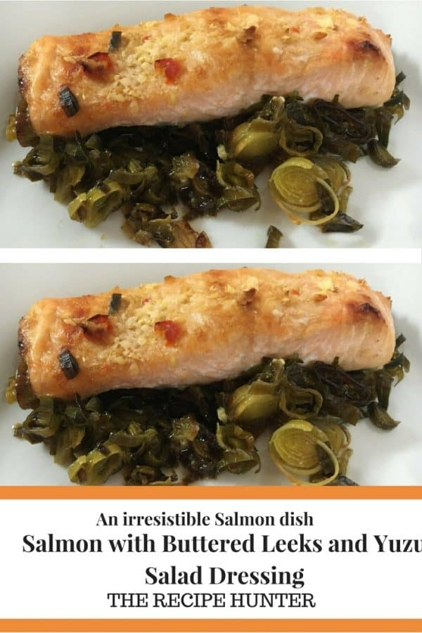 Salmon with Buttered Leeks