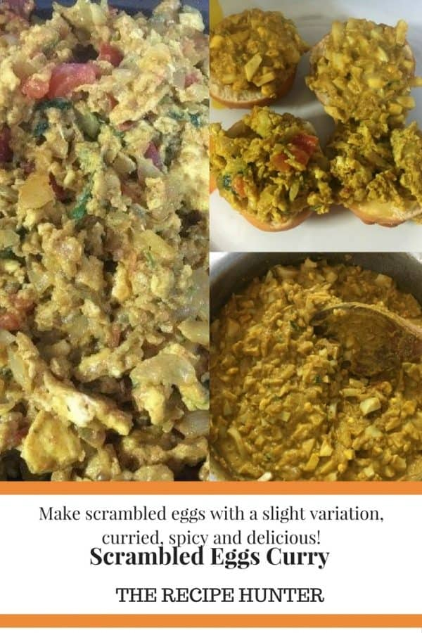 Bobby's Scrambled Eggs Curry