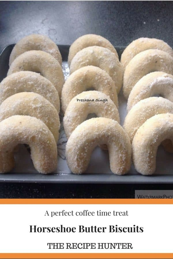 Horseshoe Butter Biscuits