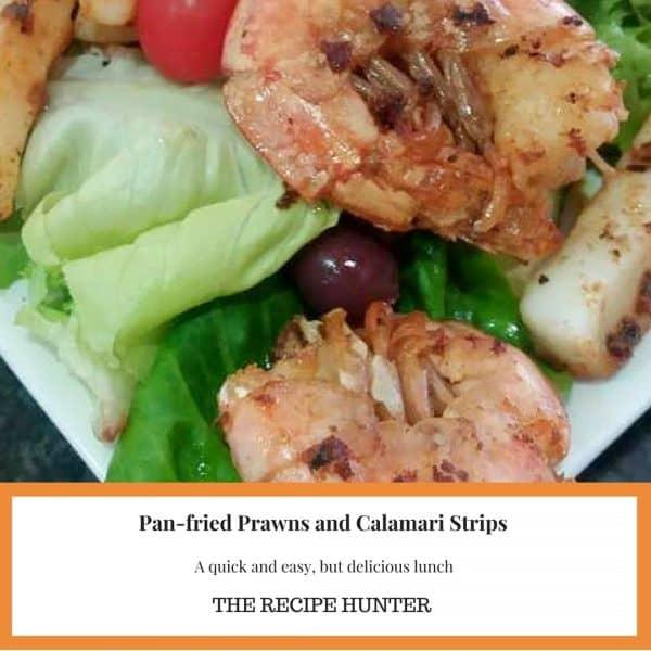 Prawns and Calamari Strips