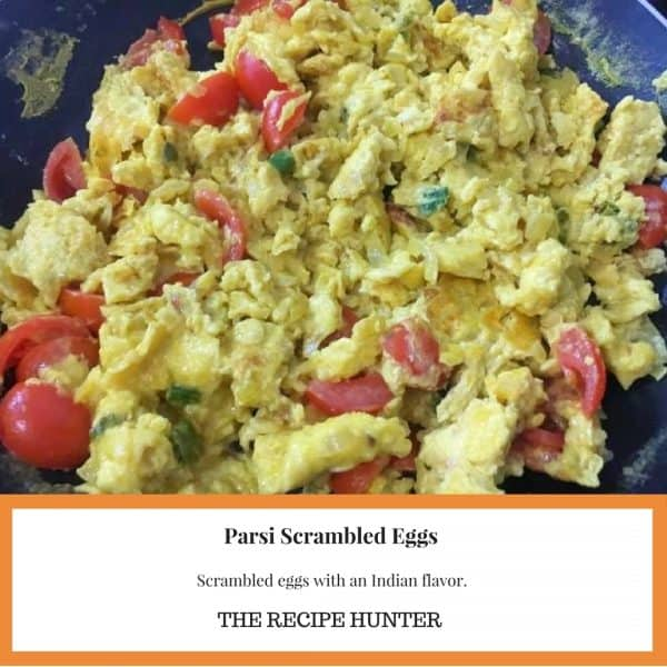 Parsi Scrambled Eggs