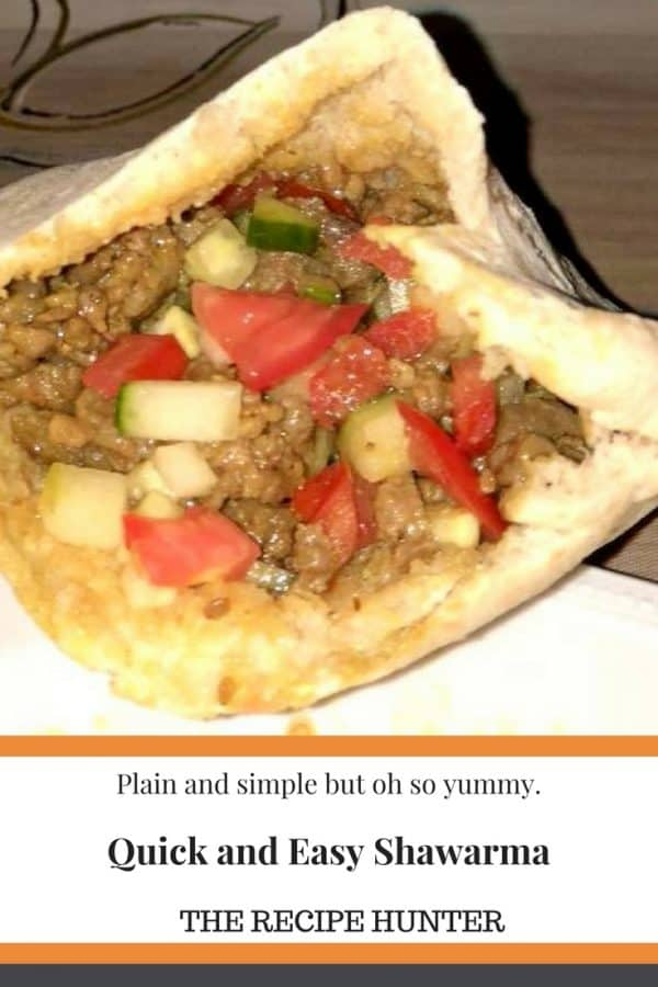 Quick and Easy Shawarma