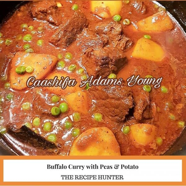Buffalo Curry with Peas & Potato