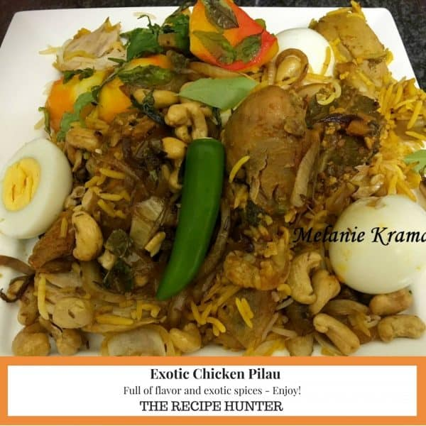 Exotic Chicken Pilau