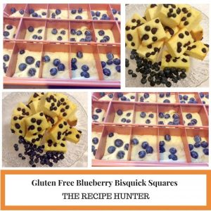 Gluten Free Blueberry Bisquick Squares