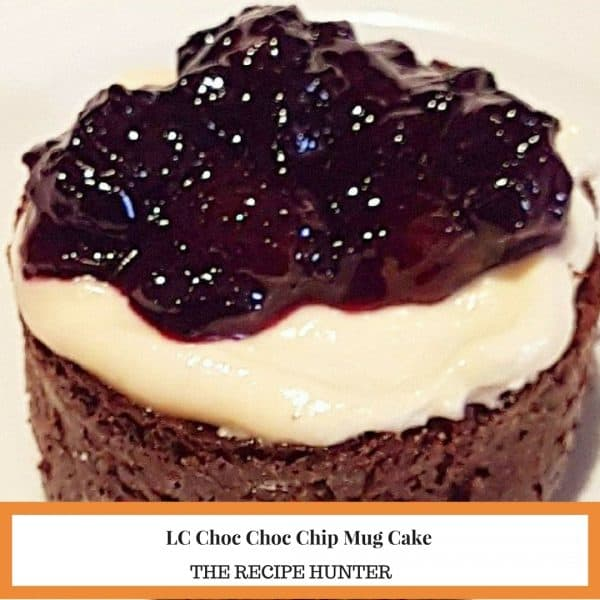 Choc Chip Mug Cake