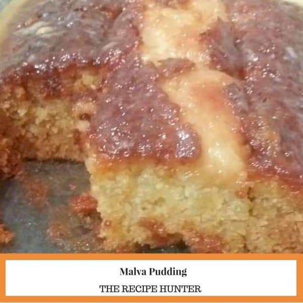 Feriel's Best Ever Malva Pudding