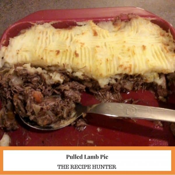 Pulled Lamb Pie