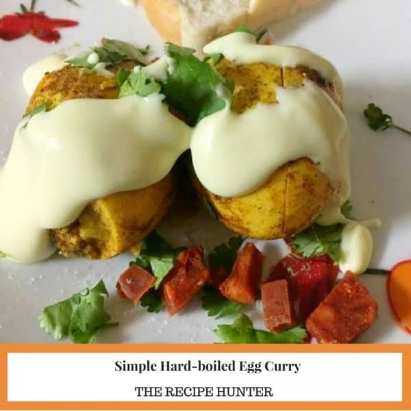 Hard-boiled Egg Curry