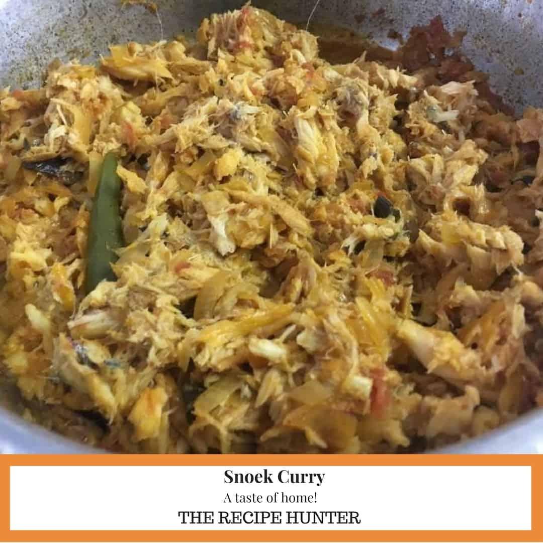 Snoek Curry