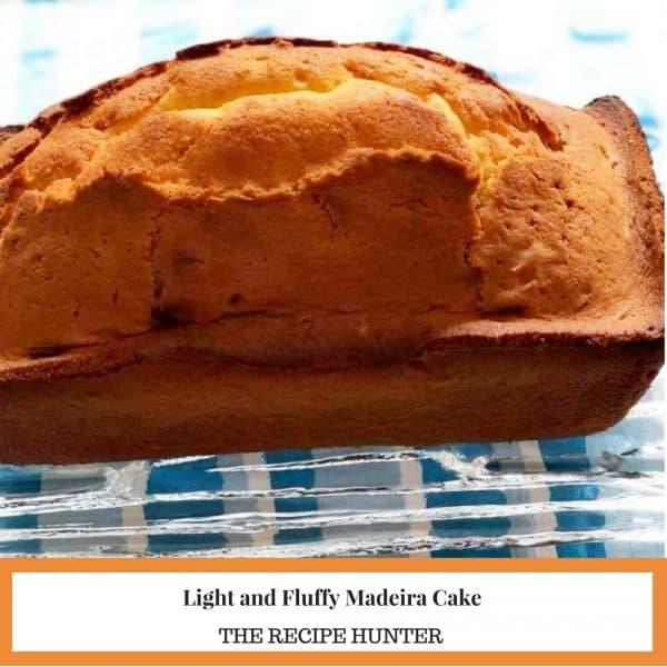 Light and Fluffy Madeira Cake