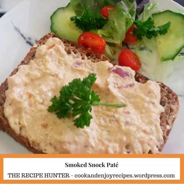 Smoked Snoek Paté