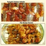 Simple Teriyaki Chicken Kebabs