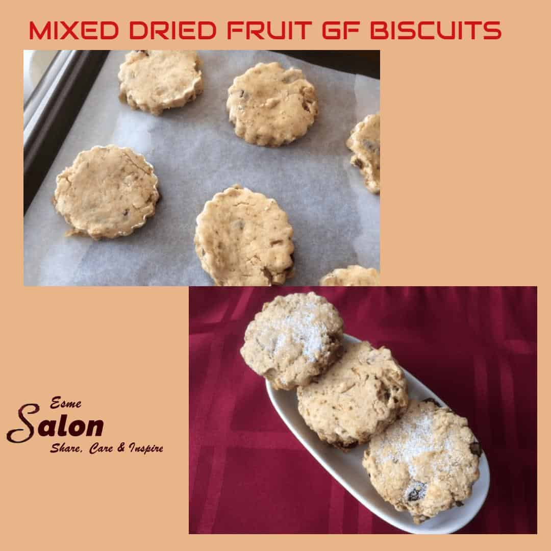 Mixed Dried Fruit GF Biscuits