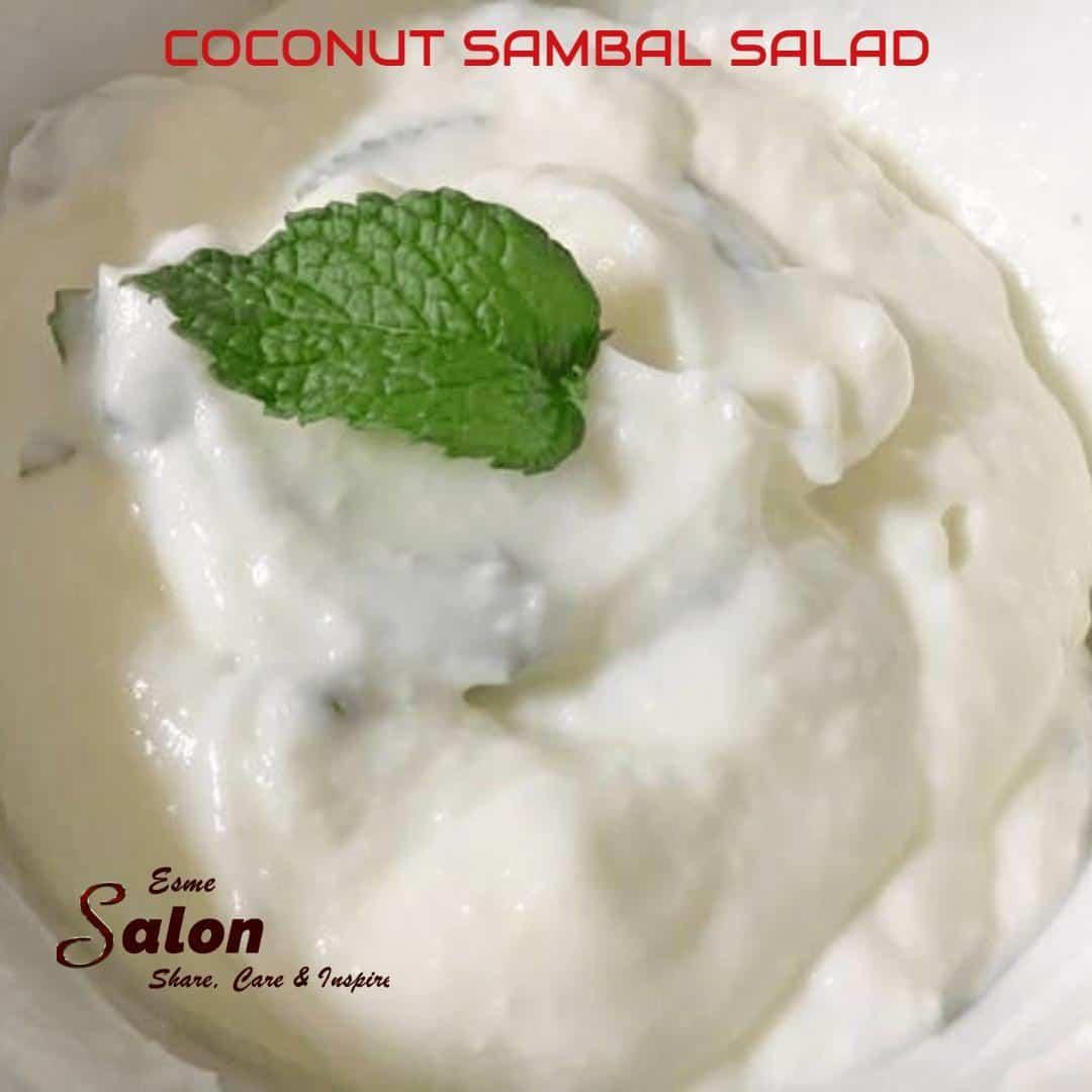 Coconut Sambal Salad