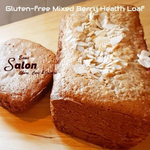 How to bake your own Gluten-free Mixed Berry Health Loaf