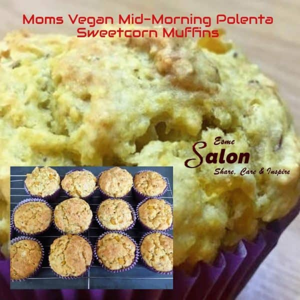 Moms Vegan Mid-Morning Polenta Sweetcorn Muffins 2