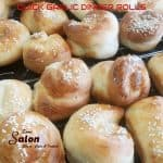 Home-made Quick and Easy Garlic Dinner Rolls