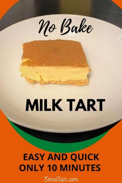 Quick No-Bake Milktart