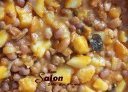 Sugar Beans with Potato Stew