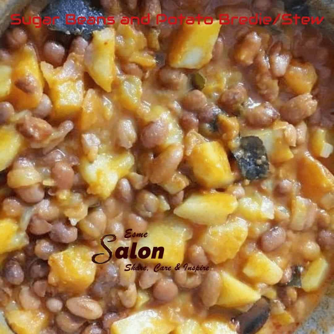 Sugar Beans with Potato Stew